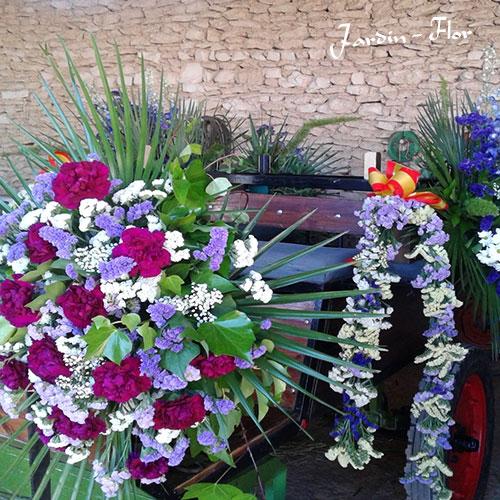 Floristería Jardín Flor | Bodas carruajes