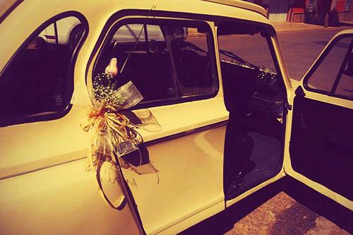Floristería Jardín Flor   Decoración bodas coches