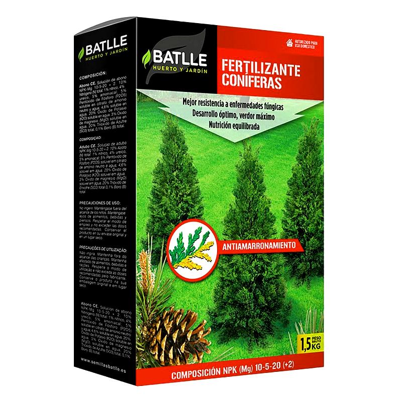 fertilizante coniferas