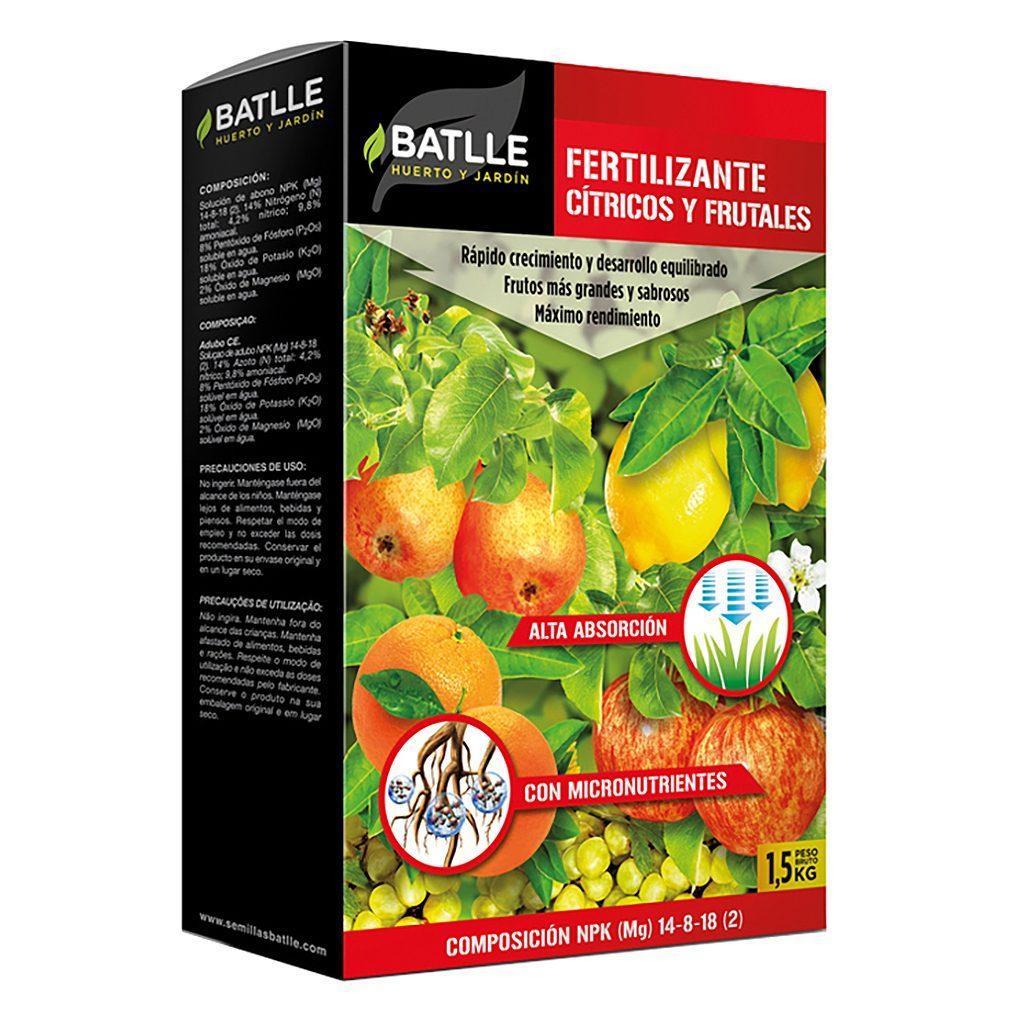 fertilizante frutales y citricos 1.5kg