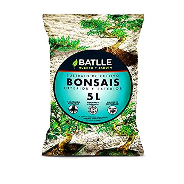 saco sustrato bonsais