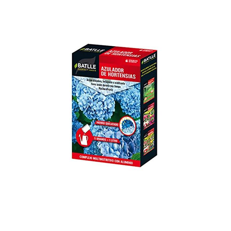 azulador de hortensias