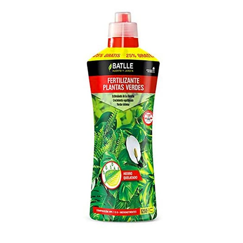 fertilizante plantas verdes 1250ml
