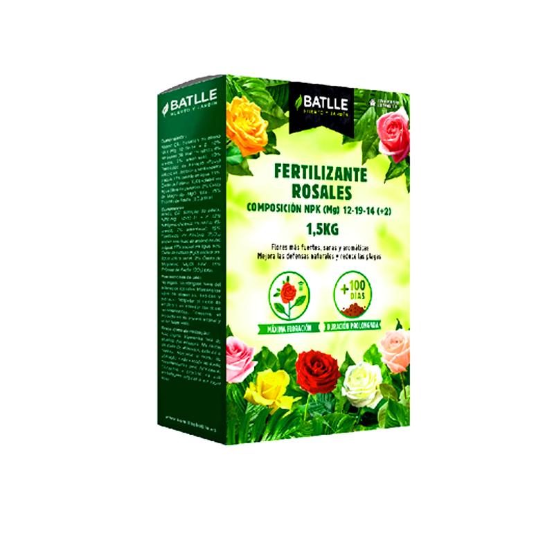 fertilizante rosales