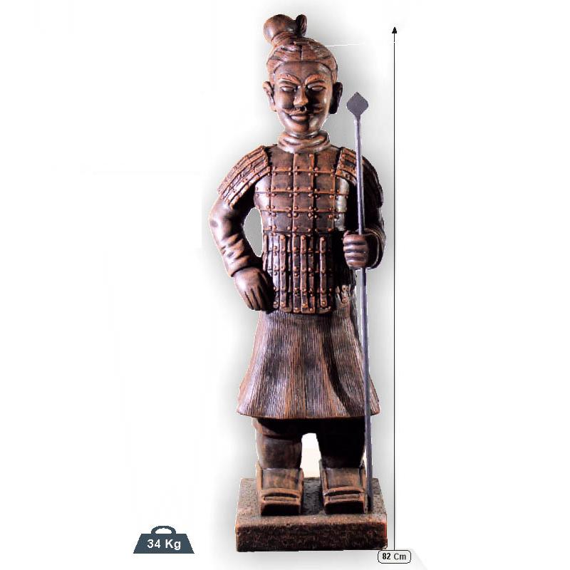 guerrero chino con lanza FK 791