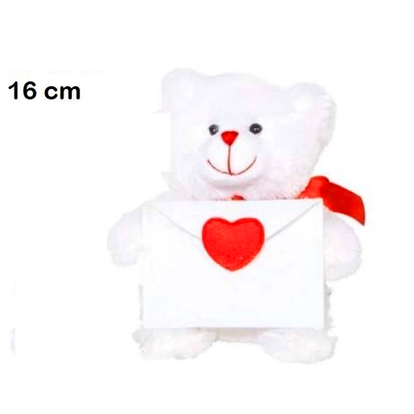 oso con sobre 16cm