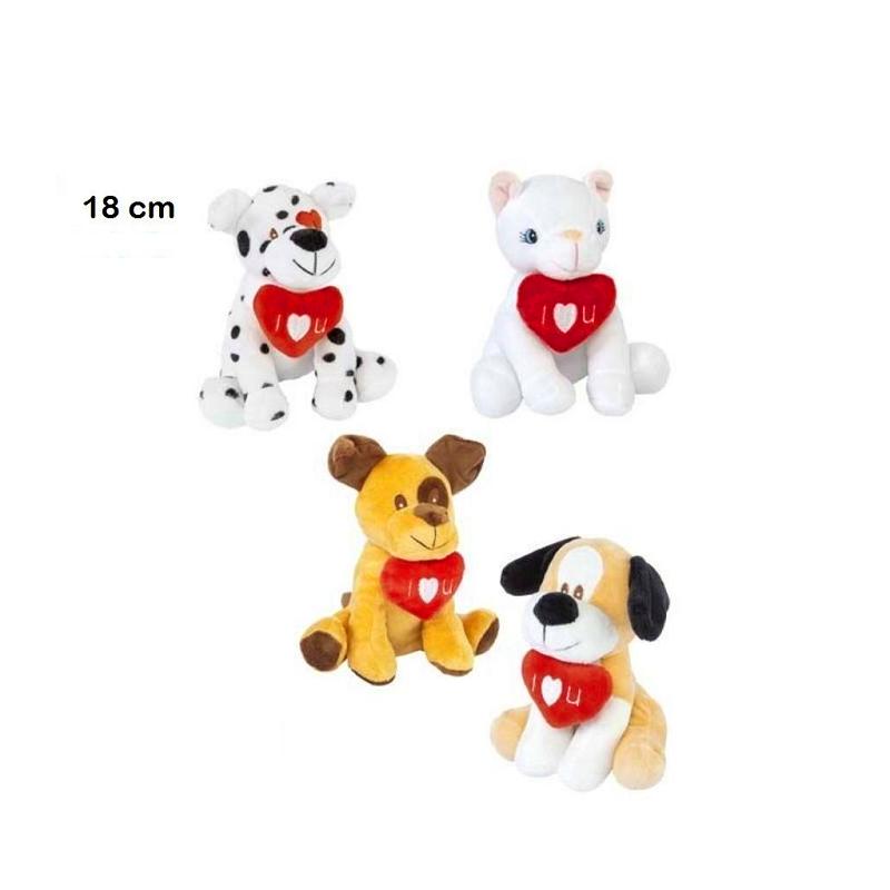 perros y gatos 18cm